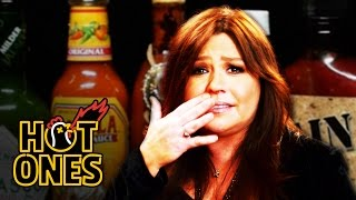 Download Rachael Ray Mainlines Hot Sauce for Thanksgiving | Hot Ones Video