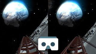 Download Virtual Reality Roller Coaster on the Moon: 3D Video for VR Box, vr headsets, Samsung Gear VR Video