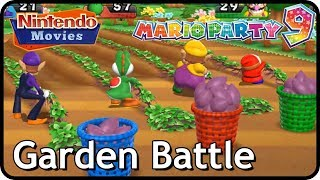 Download Mario Party 9 - Garden Battle (Multiplayer, Free-for-All) Video