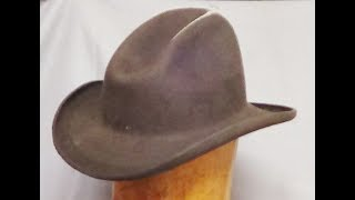 Download How to Make a Cowboy Hat with no mechanization....Step 1 Video