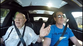 Download 97 Year Old in a Tesla Video