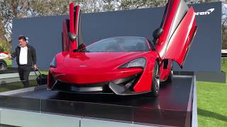 Download 2018 McLaren 570S Spider & McLaren Fittipaldi Indy Car - Amelia Island Concours 2018 Video