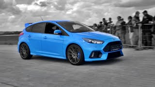 Download Ford Focus RS Mk3 Drag Race vs 480hp Mustang GT, Revving & Engine Sounds Video