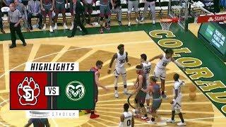 Download South Dakota vs. Colorado State Basketball Highlights (2018-19) | Stadium Video