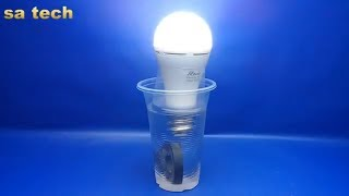 Download Free energy light bulbs Amazing with salt water & magnets - Experiment at home Video