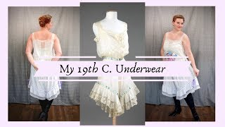 Download Sewing Lacy Victorian Underwear || My 1890s Met Museum Inspired Combinations Video