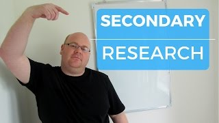 Download A level Business Revision - Secondary Research Video