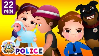 Download ChuChu TV Police Chase Thief in Police Car to Save Mary's Little Lamb | ChuChu TV Surprise Eggs Toys Video