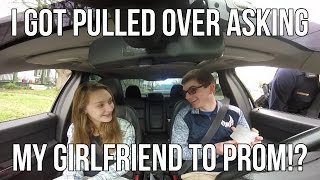 Download I got pulled over asking my girlfriend to Prom!? - Evan's Promposal 2017 Video