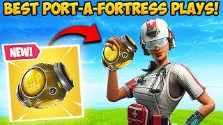 Download *NEW* PORT-A-FORTRESS IS INSANE! - Fortnite Funny Fails and WTF Moments! #325 Video