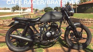 Download Suzuki Yes EN 125cc Cafe Racer/Bratstyle (Brasil) Video