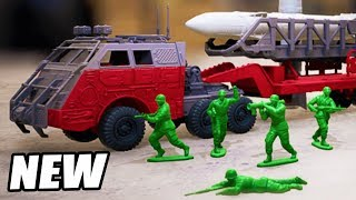 Download Green ARMY MEN Invasion! NEW Toy Soldiers Defense GAME (Hypercharge Unboxed Gameplay Part 1) Video