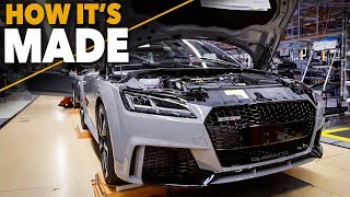 Download Audi TT RS 2017 HOW IT'S MADE Production Assembly Line CAR FACTORY Video