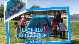 Download EASTHILLS OUTDOORS COASTVIEW EASY SET UP TENT REVIEW! Video