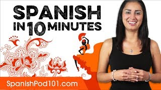 Download Learn Spanish in 10 Minutes - ALL the Basics You Need Video