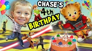 Download Chase's 4th Birthday Party Adventure! Never Ending Fun w/ Daniel Tiger Pinata (FUNnel Vision Vlog) Video