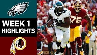 Download Eagles vs. Redskins | NFL Week 1 Game Highlights Video