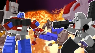 Download Minecraft | TRANSFORMERS ROYAL RUMBLE - Autobots vs Decepticons! (Transformers Challenge) Video