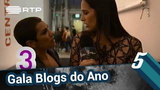 Download Beatriz Gosta na Gala Blogs do Ano 2018 | 5 Para a Meia-Noite | RTP Video