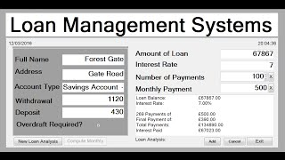 Download How to Create Loan Management System in Visual Basic Video