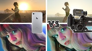 Download iphone 7 vs Hollywood Movie Camera Arri Alexa Video