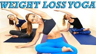 Download Yoga Weight Loss Challenge! 20 Minute Fat Burning Yoga Workout Beginners & Intermediate Video
