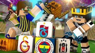 Download Minecraft - FENERBAHÇE VS GALATASARAY VS BEŞİKTAŞ VS TRABZONSPOR BLOKLARI Video