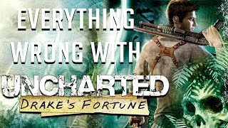 Download GamingSins: Everything Wrong with Uncharted: Drake's Fortune Video