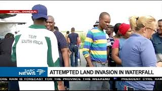 Download Several people arrested after land grabs in Waterfall Video