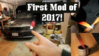 Download 1st Turbo E36 Mods of 2017! + Glowing Knife vs Old Bushing! Video