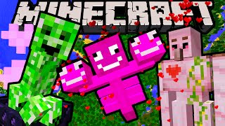 Download Minecraft 1.10 Snapshot: Nice Creeper, Riding Ghasts, Flying Squid, Pink Wither April Fools' Secrets Video