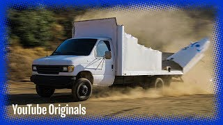 Download Moving Truck vs Low Bridge in Slow Mo Video