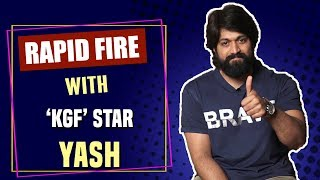 Download Rapid Fire with KGF star Yash Video