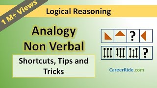 Download Non Verbal Analogy - Tricks & Shortcuts for Placement tests, Job Interviews & Exams Video