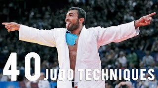 Download 40 Judo Techniques in 5 mn with the Superstars Video