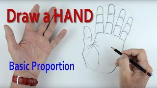 Download How to Draw a Hand: Part 1 Basic Proportion Video
