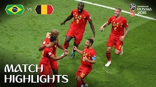 Download Brazil v Belgium - 2018 FIFA World Cup Russia™ - Match 58 Video