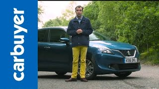 Download Suzuki Baleno hatchback 2016 review – Carbuyer Video