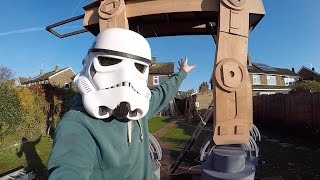 Download Building a HUGE Star Wars AT-AT Video