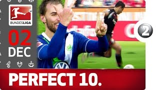 Download Top 10 Perfect Hat-Tricks - Chicharito, Pizarro & More - Bundesliga 2016 Advent Calendar 2 Video