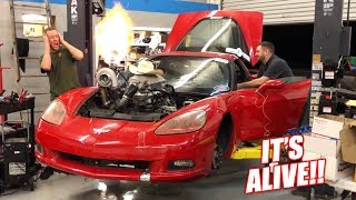 Download The Auction Corvette COMES TO LIFE w/New Turbo Setup! (Launch Control is Unreal) Video