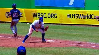 Download Highlights: USA v Chinese Taipei - U-15 Baseball World Cup 2018 Video
