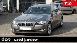 Download Buying a used BMW 5 series F10/F11 - 2010-2017, Common Issues, Buying advice / guide Video