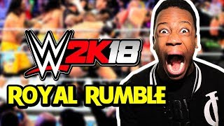 Download WWE 2K18 FULL 30-Man Royal Rumble! (1080p 60 FPS w/FaceCam) Video