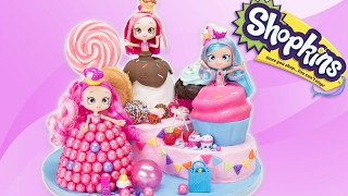 Download Shopkins Shoppies Cake from the Toys: Donutina, Jessicakes, Bubbleisha (Doll Cakes) Video