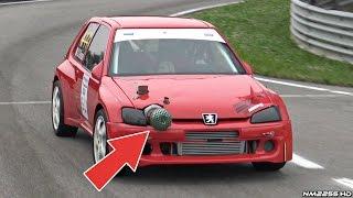 Download 500HP TURBO Peugeot 106 Monster! - LOUD Turbo Wastegate & Flames! Video
