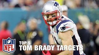 Download Tom Brady's Top 5 Targets of All Time | Good Morning Football | NFL Network Video