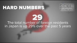 Download Signal's hard numbers: Missing money in Liberia; foreign residents in Japan Video