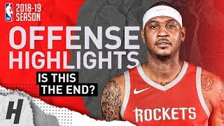 Download Carmelo Anthony BEST Offense Highlights from 2018-19 NBA Season! What's Next? Video