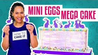Download How To Make a CADBURY MINI EGGS MEGA CAKE | With COCONUT Cake | Yolanda Gampp | How To Cake It Video
